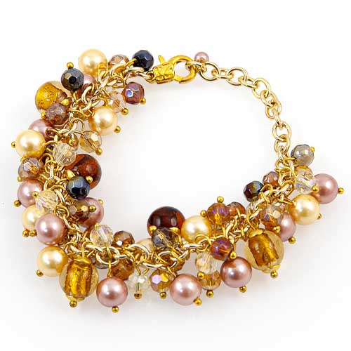 Multi Glass Bead Bracelet Malta,Glass Bracelets Malta, Glass Bracelets, Mdina Glass