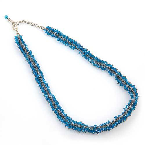 Mutli Mini Glass Beads Bracelet Malta,Glass Necklaces Malta, Glass Necklaces, Mdina Glass