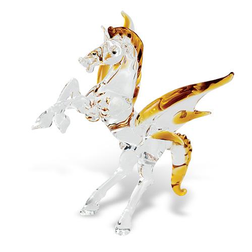 Pegasus Malta,Glass Figurines Malta, Glass Figurines, Mdina Glass