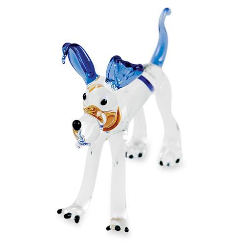 Large Dog (standing) Malta,Glass Figurines Malta, Glass Figurines, Mdina Glass