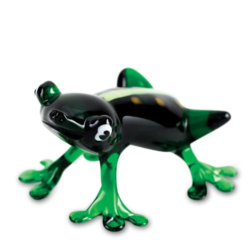 Frog  Malta,Glass Figurines Malta, Glass Figurines, Mdina Glass
