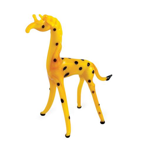 Giraffe  Malta,Glass Figurines Malta, Glass Figurines, Mdina Glass