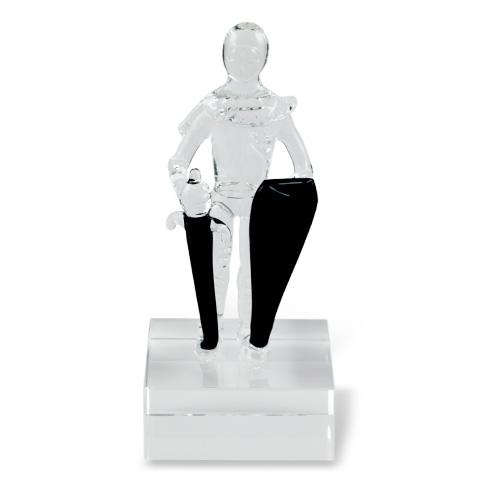 Small Knight of Malta  Malta,Glass Figurines Malta, Glass Figurines, Mdina Glass