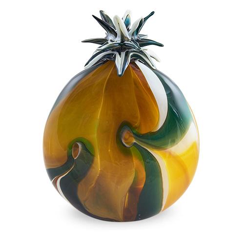 Large Legacy Stoppered Lollipop Vase Malta,Glass Legacy Malta, Glass Legacy, Mdina Glass