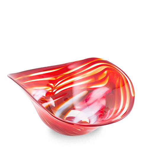 Marte Medium Moon Bowl Malta,Glass Marte Malta, Glass Marte, Mdina Glass
