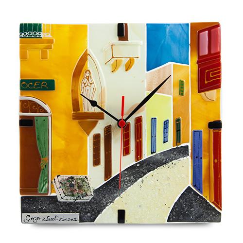 Gozo Street Clock Malta,Glass Clocks Malta, Glass Clocks, Mdina Glass