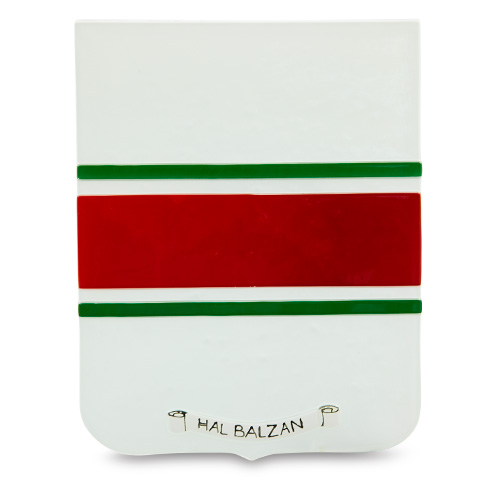 Town Crest: Hal Balzan Malta,Glass Town Crests Malta, Glass Town Crests, Mdina Glass