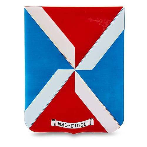 Town Crest: Had-Dingli Malta,Glass Town Crests Malta, Glass Town Crests, Mdina Glass