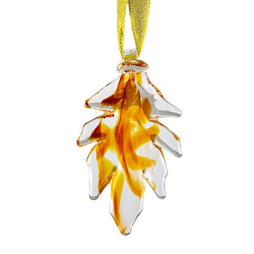 Hanging Leaf Malta,Glass Hanging Christmas Trees & Leaves Malta, Glass Hanging Christmas Trees & Leaves, Mdina Glass