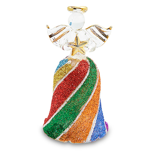 Bell Angel Malta,Glass Decorative Angels Malta, Glass Decorative Angels, Mdina Glass